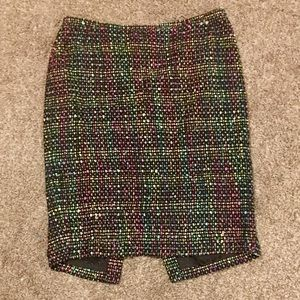 Lafayette 148 Tweed Pencil Skirt Size 6 Petite